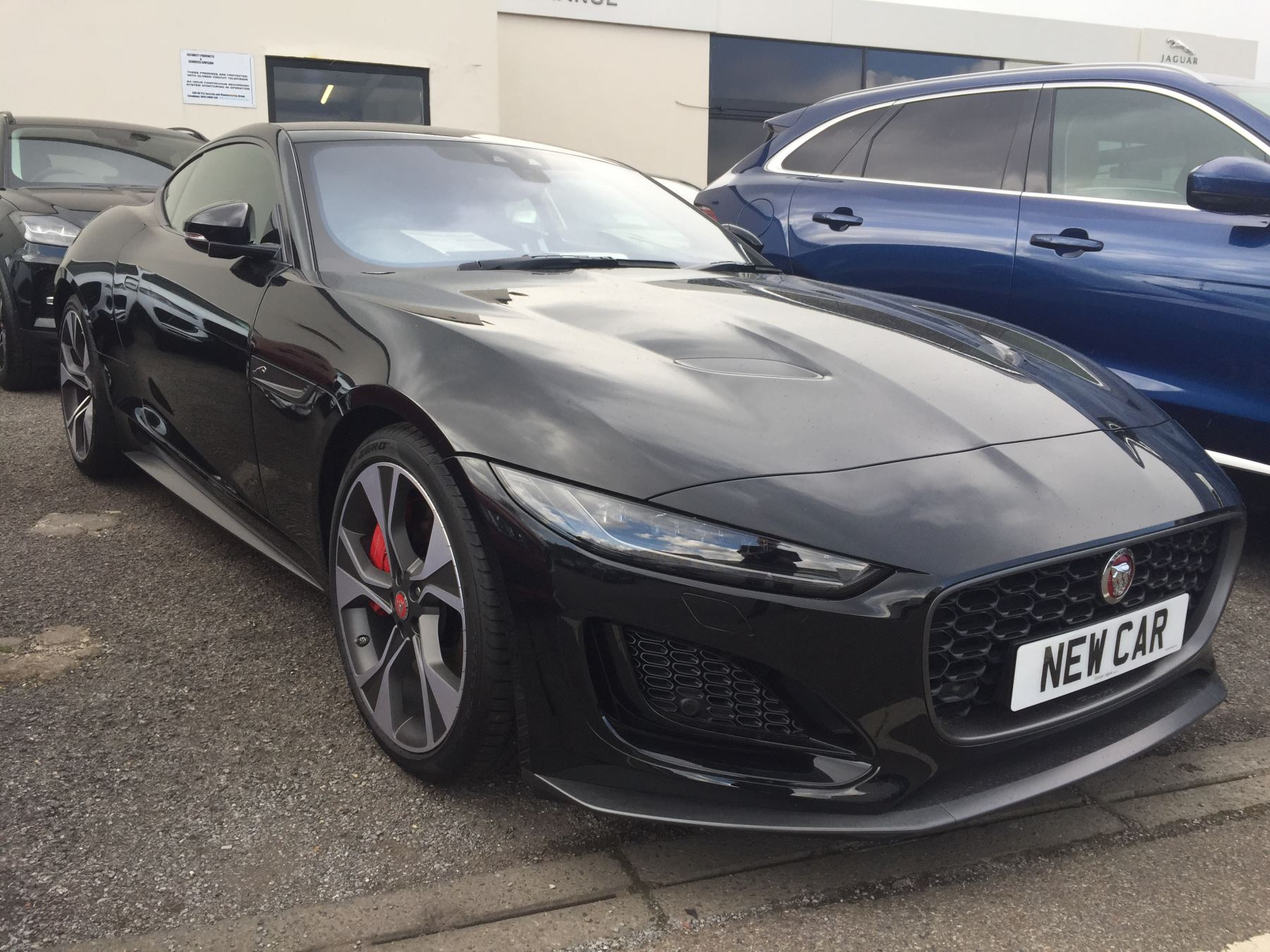 Jaguar F-TYPE 5.0 P450 S/C V8 First Edition AWD SPECIAL EDITIONS Automatic 2 door Coupe